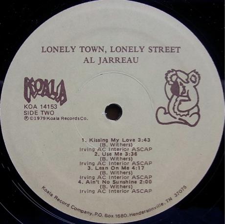 Al Jarreau Lonely Town Lonely Street