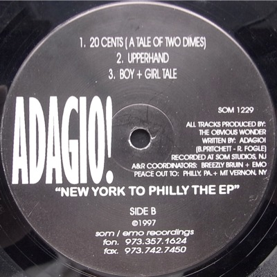 Adagio new york to philly the ep big division records for Adagio new york