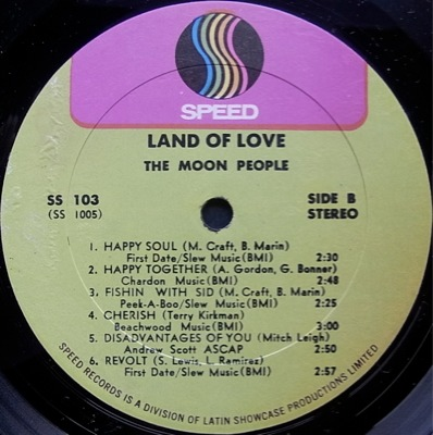 Moon People - Land Of Love / Revolt