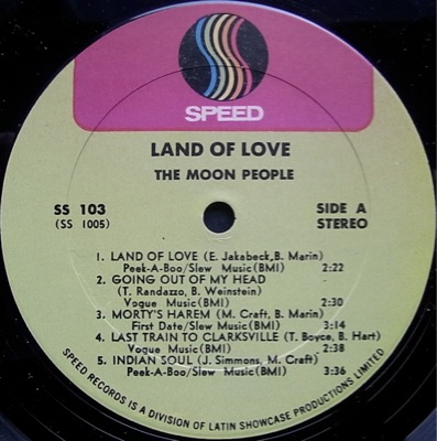 Moon People Land Of Love Revolt