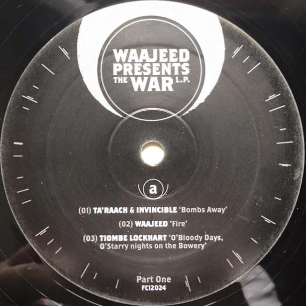 Waajeed - The War LP