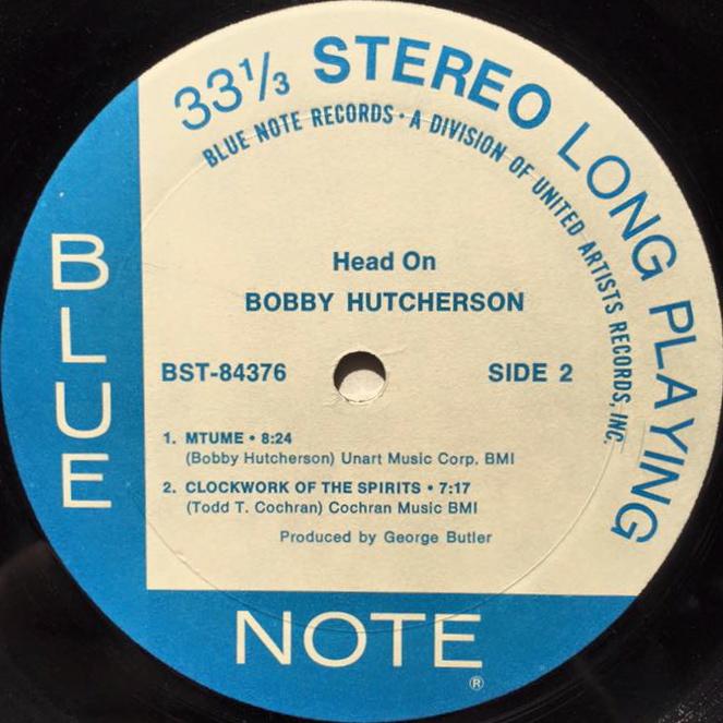 BOBBY HUTCHERSON / HEAD ON - レコード -【garitto】