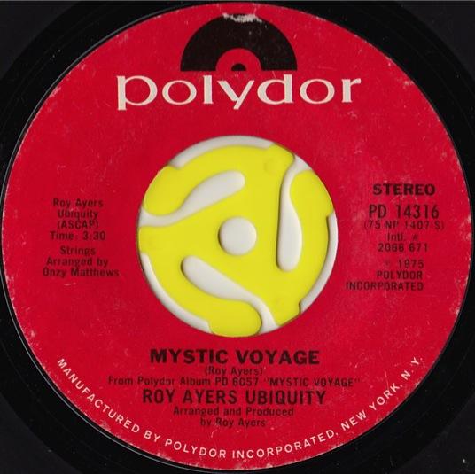 Roy Ayers Ubiquity Evolution Mystic Voyage