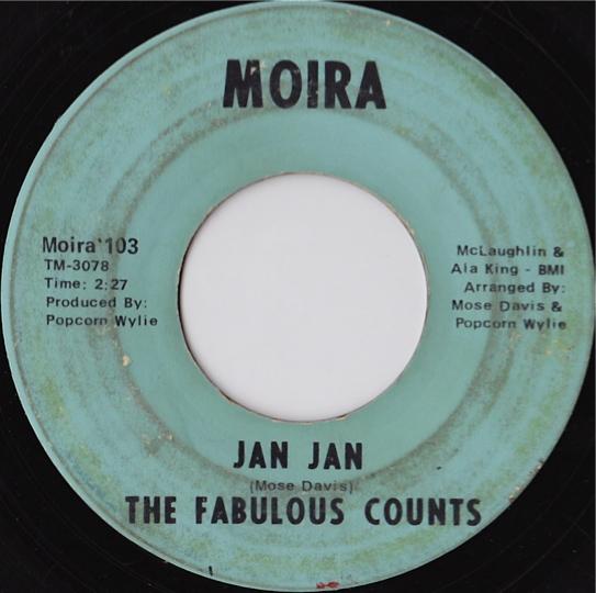 The Fabulous Counts Jan Jan Girl From Kenya