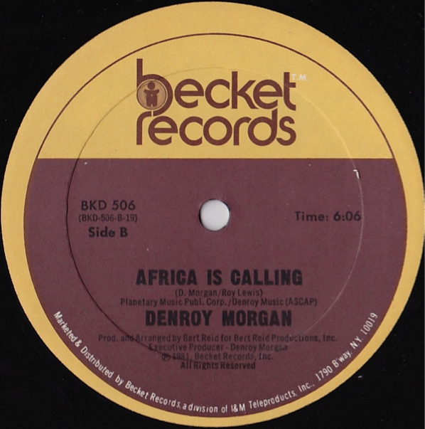 Denroy Morgan - Universal Party / Into The Light