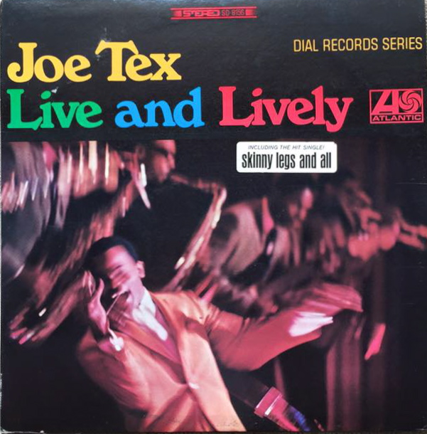 joe tex live and lively big division records